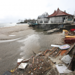 Oakland Beach trashed by Hurricane Sandy